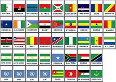 african-country-flags.jpg (650×462)🔹🔹💥FLAGS OF THE WORLD : More Pins Like This At FOSTERGINGER @ Pinterest 💥🔹🔹