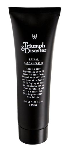 Ritual Face Cleanser from Triumph & Disaster – $26
