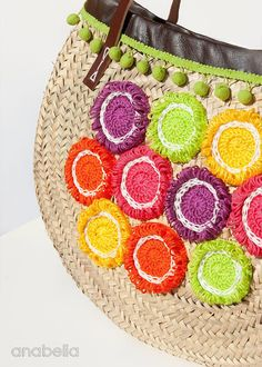 Tropical Fruits summer bag - a small splash of color <3