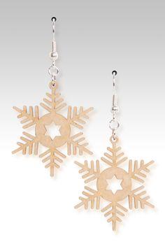 Woodies - Snowflakes $12.95 Gecko Graphics, Inc.