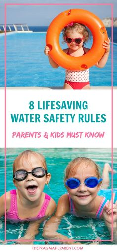 Important Water Safety and Pool Safety Rules Every Parent and All Children Must Know. Know the 5 Signs of Drowning and How to Give a Child CPR.