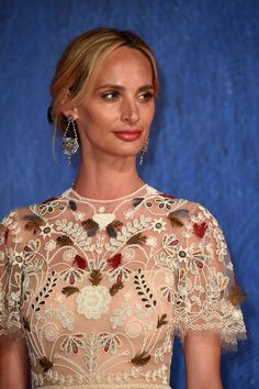 """Lauren Santo Domingo at the Venice Film Festival 2016: On the Red Carpet at """"Franca: Chaos and Creation"""" Photos 