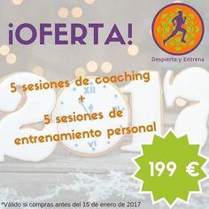 No has terminado aún tu lista de #propósitos para año nuevo? Nosotros te ayudamos a decidirte con esta súper #oferta #DespiertayEntrena #Despierta #Entrena #salud #bienestar #deporte #coaching #entrenar #entrenadorespersonales #entrenamientos #Madrid #propositosañonuevo #vidasana
