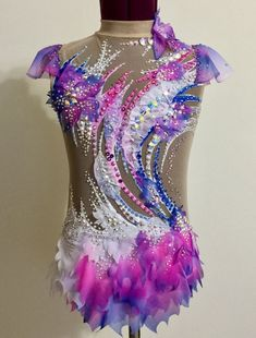 Etsy の Competition Rhythmic Gymnastics Leotard by Savalia