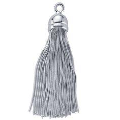 925 Sterling Silver Snake Chain Tassel by CedarCreekCanada on Etsy