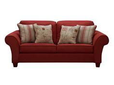 Palmer Red Full Sleeper - Value City Furniture