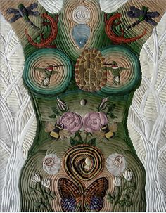 Within the womb of every woman glows the consciousness of Mother Earth.   ~ Roslyne Sophia Breillat