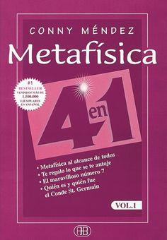 Metafísica 4 en 1, Vol. 1 me lo recomendaron mis tres maestras de Reiki (Mari Carmen, Mariló y Juana) y desde que lo leí es uno de mis libros de cabecera, lo guardo siempre en mi mesilla de noche, lo llevo siempre en formato digital para leerlo en cualquier momento y lugar. http://reikinuevo.com/metafisica-conny-mendez/