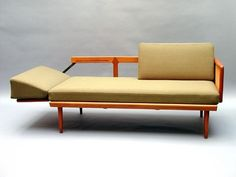 Peter Hvidt, Adjustable Daybed for France & Son's 1950s.