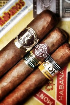 Cuban Cigars Selection! Check www.AALuxLite.com for Cigar accessories like, Cigar Cutters, Cigar Cases, Luxury Lighters and Smoking Gift Sets