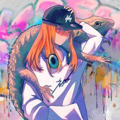 camouflage T-shirt shopping↓ http:& Art Manga, Art Anime, Manga Anime, Anime Artwork, Camouflage, Character Art, Character Design, Goth Art, Manga Illustration