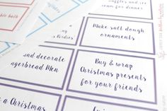 Grab your ADVENT CALENDAR BUNDLE {with Free Printables} today!  Available in TWO colour combinations.