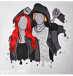Clary and Jace: The Mortal Instruments