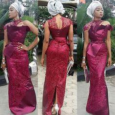 Expression of my thoughts in #style @msogarr nice choice of #asoebi@cNdaNiELScouture #womenwithclass #womensfashion #clothesforbeautyandforglory #tradlookbook #asoebibella #ms_asoebi #bellanaijaweddings #weddingdigestnaija #weddingguest #fashion my #love #cNdaNiELscollection #clothesforbeautyandforglory