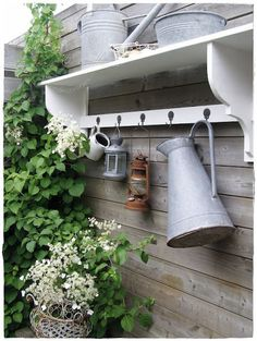 Find and save ideas about Outdoor wall decorations on Pinterest. | See more ideas about Outdoor walls, Outdoor wall art and Garden wall decorations.  #OutdoorWallDecor #OutdoorWallDecorSiding #sheddecor
