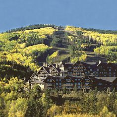Ritz-Carlton, Bachelor Gulch, Avon, CO. At the base of Beaver Creek MTN