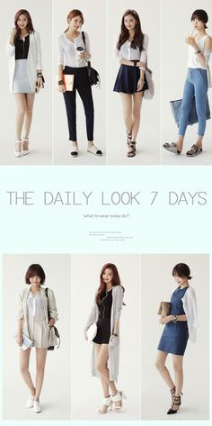 Korean Fashion Trends you can Steal – Designer Fashion Tips Korean Fashion Trends, Korean Street Fashion, Korea Fashion, Asian Fashion, Look Fashion, Daily Fashion, Everyday Fashion, Trendy Fashion, Girl Fashion