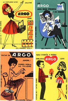 Vintage Matchbox Labels - Yugoslavia