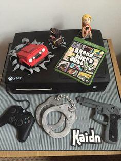 Grand Theft Auto / Gta / Xbox Cake
