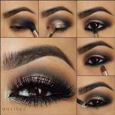 In the Nude Palette 2 Eye Makeup Tips, Smokey Eye Makeup, Makeup Inspo, Beauty Makeup, Makeup Basics, Makeup Brush, Makeup Ideas, Khol Eyeliner, Bronze Smokey Eye