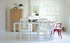 skandinavisches design esszimmer reizende ideen rustikal wohnlich