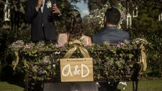 Bride and groom chair picture - christian wedding ceremony