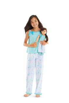 Grace Thomas's Pajamas & Slippers for Girls American Girl Store, My American Girl Doll, American Girl Crafts, Cute Young Girl, Cute Little Girls, Girl Doll Clothes, Girl Dolls, New Dolls, Girl Online