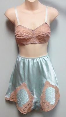 Lovin Bloglovin' & 1930's underwear | Ruffles Gazebo