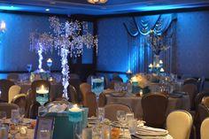 Tiffany & Shopping Theme Crystal Bat Mitzvah Centerpieces {Westminster Hotel, Brad Photographers} - mazelmoments.com