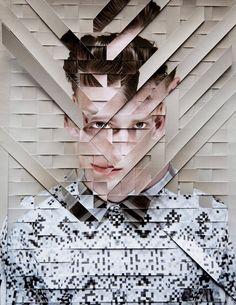 paper portret