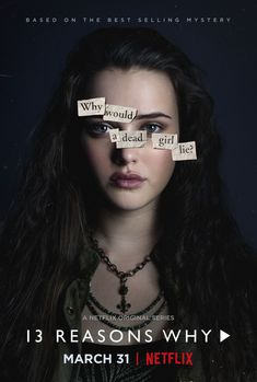 """Thirteen Reasons Why (tv) Just a reminder that if you are only now """"realizing"""" that treating people like shit online or in person is wrong and """"needs to be stopped now"""" because of this TV show, you're probably an asshole."""