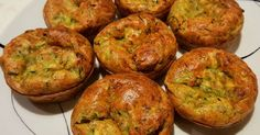 Quiche Muffins, Vegas, Food Dishes, Baked Potato, Ham, Bacon, Paleo, Food And Drink, Gluten Free