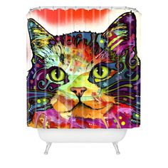 Dean Russo Ragamuffin Shower Curtain | DENY Designs Home Accessories