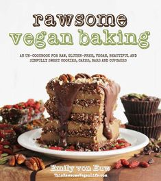 Raw Vegan Maple Pecan Pie from Rawsome Vegan Baking Cookbook