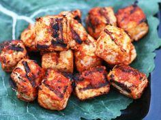 grilled sriracha tofu