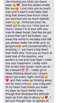 Always be playin' for Keeps! Always be playin' for Keeps! Paragraph For Boyfriend, Love Text To Boyfriend, Cute Boyfriend Texts, Boyfriend Girlfriend, Cute Messages For Girlfriend, Cute Text Messages, Anniversary Message For Boyfriend, Relationship Paragraphs, Cute Relationship Texts