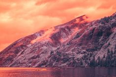 InfraMunk vs Tracy Arm Fjord on Behance
