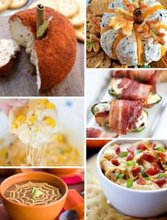 A Collection of Fall-tastic Appetizers!