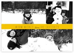 Holiday photo cards - online and paper - Paperless Post