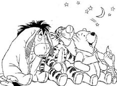 winnie the pooh and friends coloring pages winnie the pooh is very cute disney characters many kids will likes this disney cartoon charact - Tigger Piglet Coloring Pages