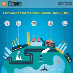 #ErpSolution for #Manufacturing Industries For more details please visit us at https://lnkd.in/f6HxF_K or Contact us on 020-67246724