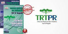 Saiba Mais -  Apostila Tecnico Judiciario TRT PR - 9ª Regiao PDF e Impressa  #apostilas