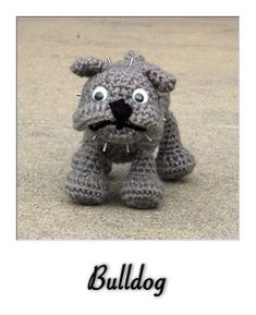 patron gratis amigurumi bulldog