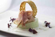Feldsalatmousse mit Hirschschinken #Rezepte, #Essen, #Kochen, #wellness