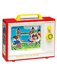 """Fisher-Price Music Box TV - The Vermont Country Store $39.95 