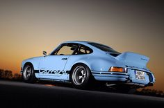 Blue RSR muscle