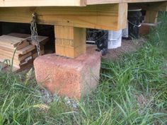 1000 images about foundation on pinterest beams cabin for Off grid cabin foundation