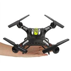 RINE COOOOH8C 24G 4CH 6 Axis Headless Mode Drone RC Quadcopter Without Camera RTF Black >>> More info could be found at the image url. This Amazon pins is an affiliate link to Amazon.