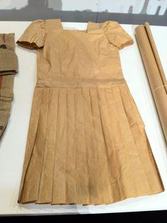 dress made by industrial designer, Patty Johnson; photo by Design Maze via poppytalk