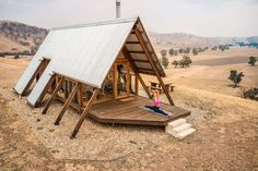 Farm Village, Tiny House Village, Tiny House Cabin, Tiny House Living, A Frame House Plans, A Frame Cabin, Small Tiny House, Tiny House Design, Hut House